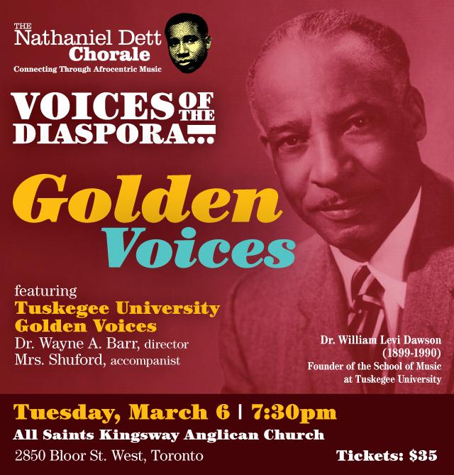 Voices of the Diaspora... Golden Voices